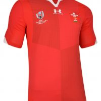 Pays de Galles Rugby World Cup 2019 Maillots Domicile Under Armour